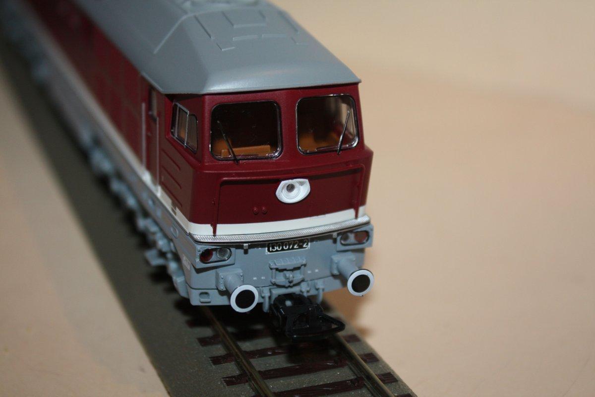 Piko 59744 Diesellok 130 072-2 Spur H0 - digital (D&H) mit Sound (Henning-Sound)