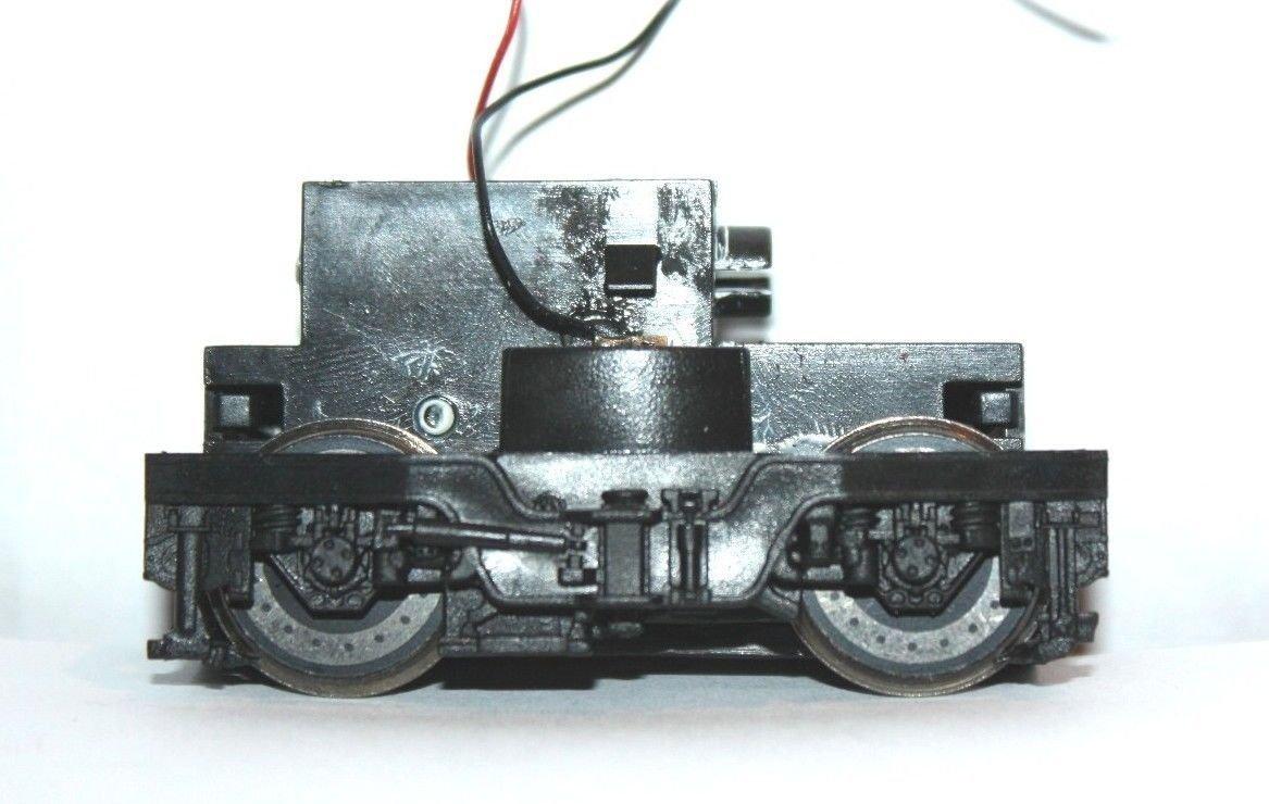 Ersatzteil Piko 189 Drehgestell komplett Getriebe 1 Radsatz mit einem Haftreifen
