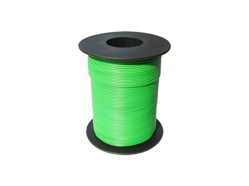 100 m LIY Kabel Litze grün 0,14 mm² flexibel Kupferlitze Schaltlitze