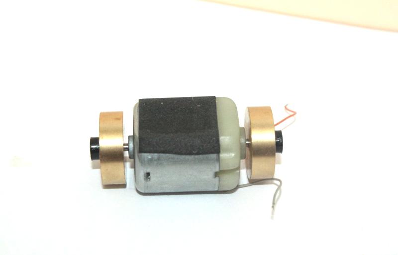 Ersatzteil Piko H0 119 / 219 / 118 / 228 Motor mit 2 Schwungmassen