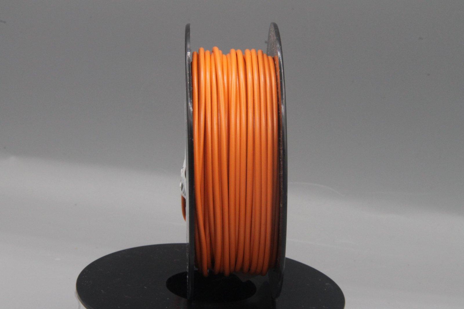 25 m LIYv Kabel Litze orange 0,5 mm² flexibel Kupferlitze Schaltlitze