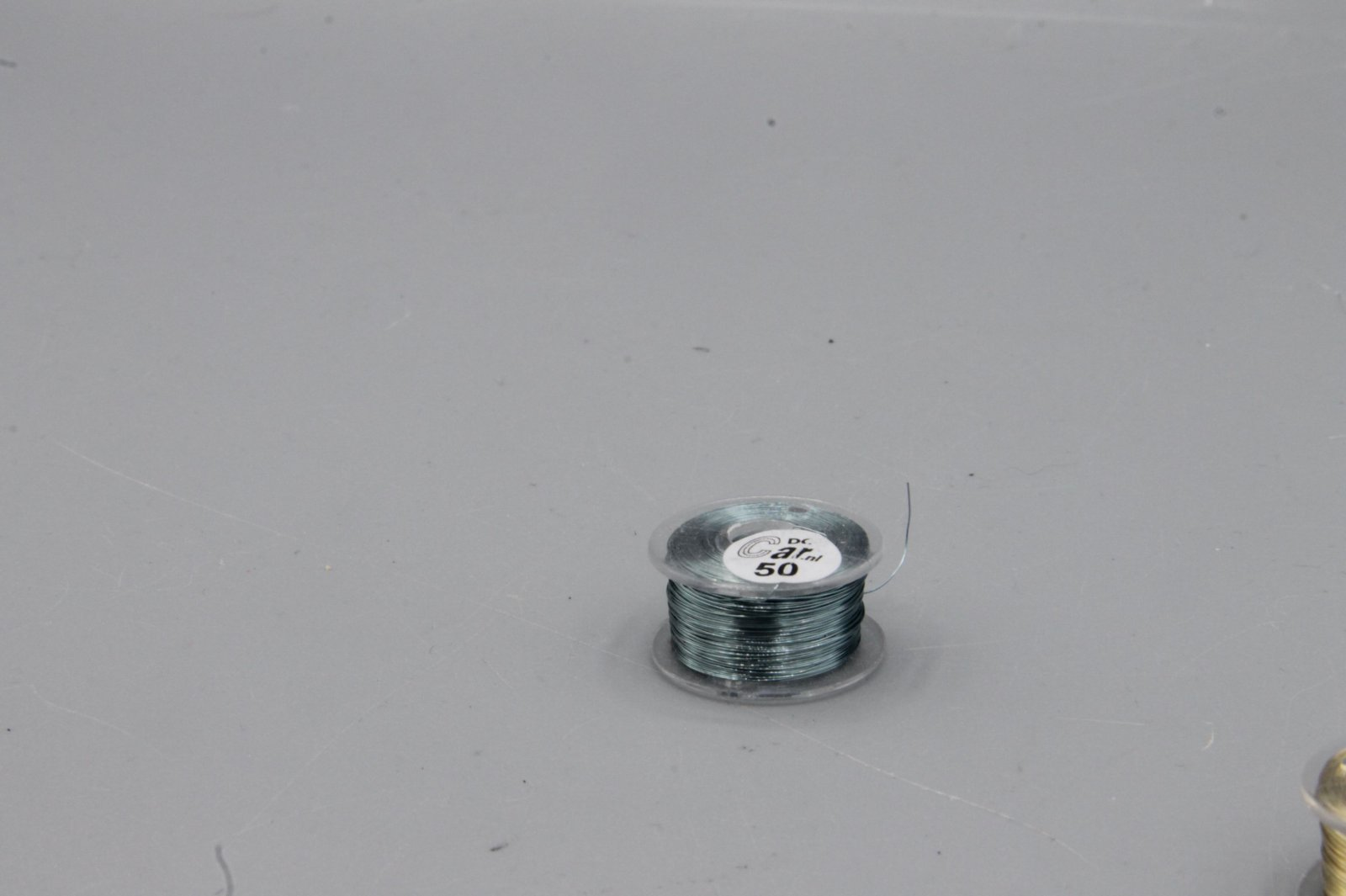 50 m Kupferlackdraht grau 0,15 mm Lackdraht Cu-Draht auf 50m-Spule