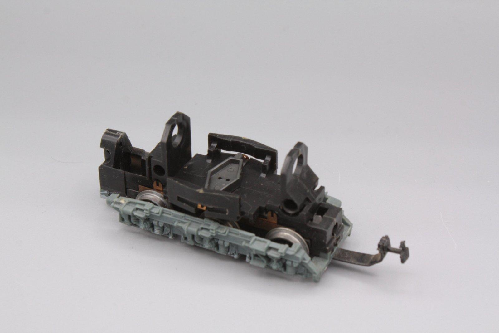 Ersatzteil Piko 130 Drehgestell ohne Motor - Laufdrehgestell graue Blende