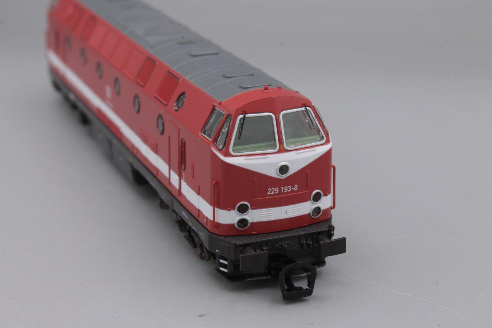 Piko 47342 Diesellok 229 193-8 Spur TT - digital (D&H) mit Sound (Henning-Sound)