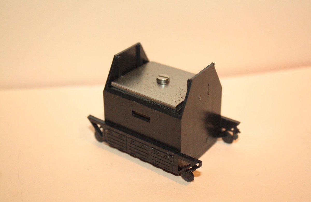 Ersatzteil Piko 130 Gewichtskasten - schwarz - komplett mit Gewichten