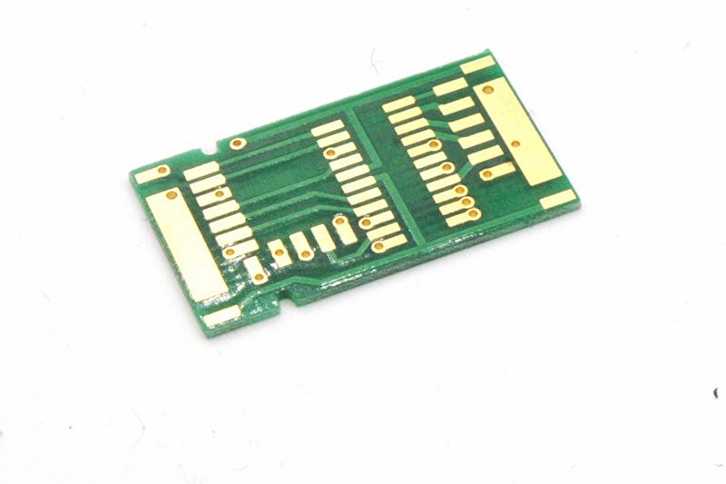 Adapterplatine für PluX 8, 12, 16, 22 Decoder ohne Buchse - 17,15 x 30,16 mm