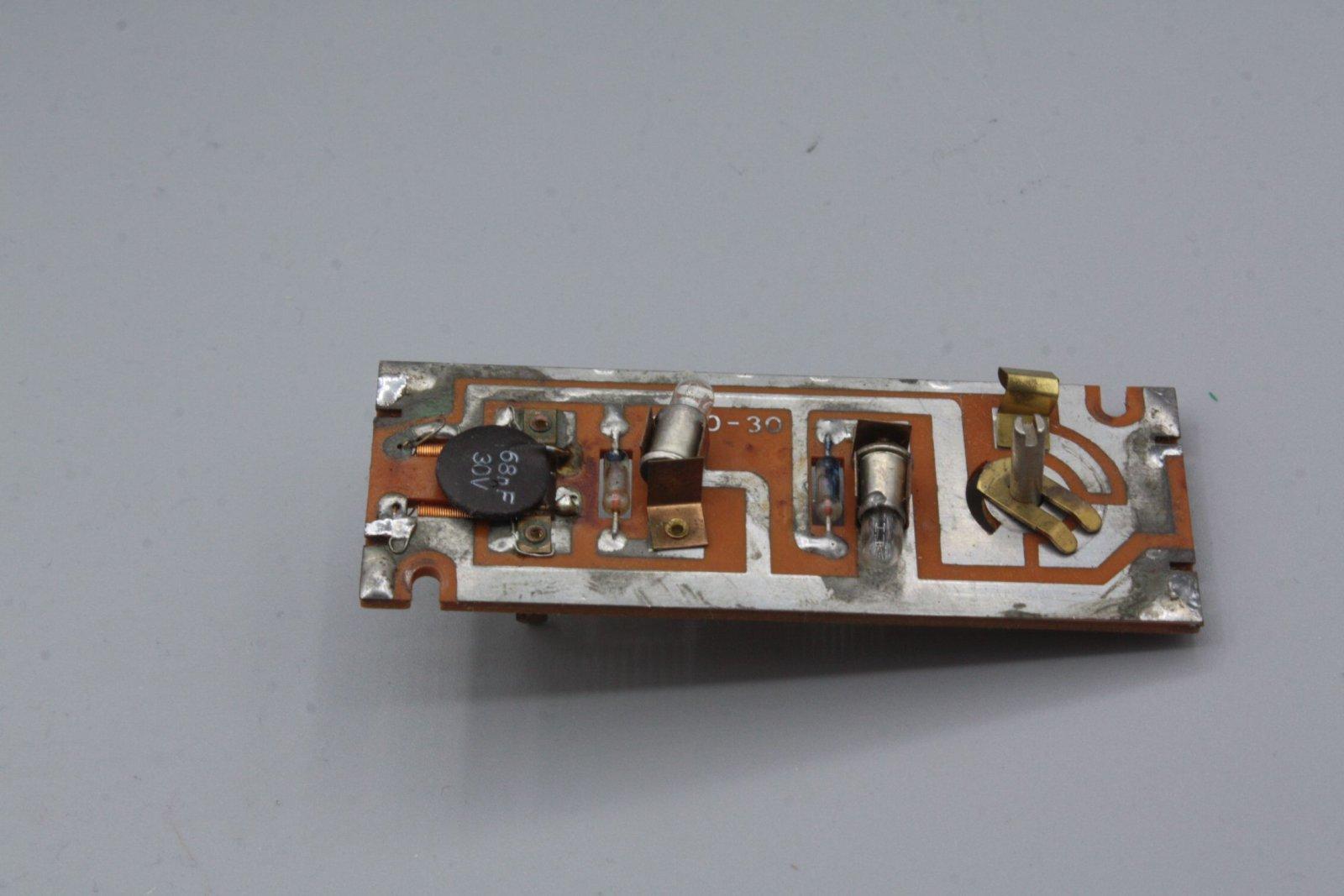 Ersatzteil Roco 140 Platine komplett - mit Glühlampen -älteres Modell (2)
