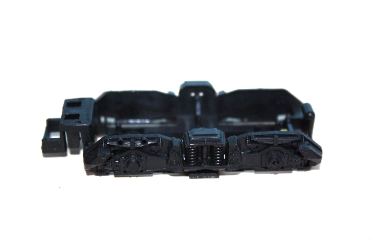 Ersatzteil Roco 215 / 218 Drehgestellblende f. mittige Zahnräder schwarz
