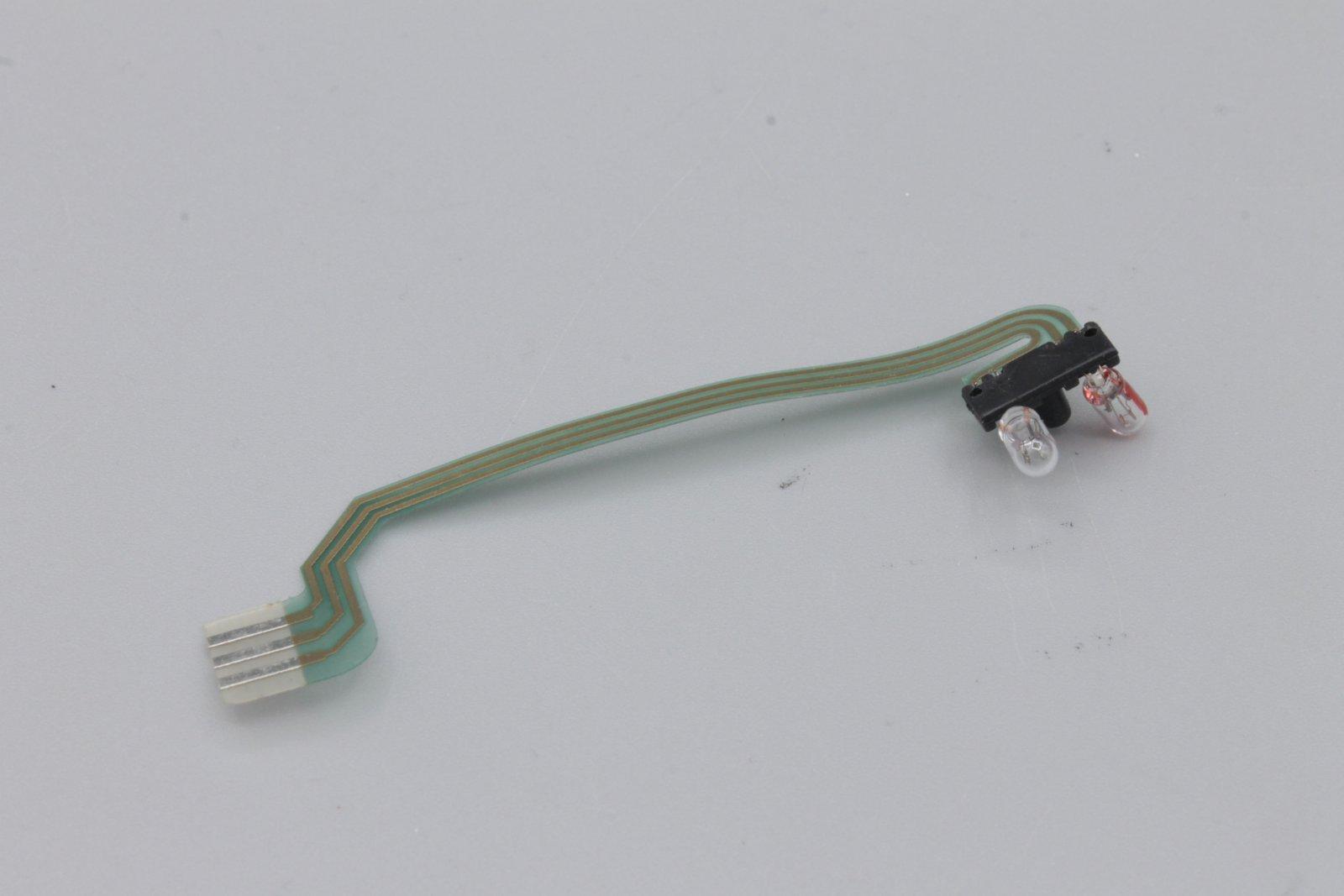 Roco  Br 120 / 220 DR Lampen-Flexplatine mit 2 Glühlampen