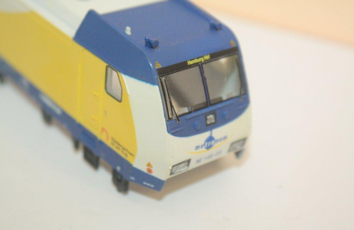 Ersatzteil Piko  146 Gehäuse Metronom ME 146 - 03 gelb / weiß / blau
