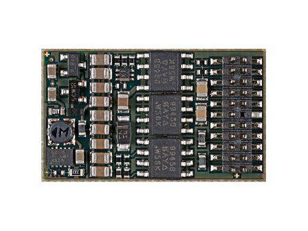 Fahrzeugsounddecoder SD22A für SX1, SX2, DCC und MM für PluX22-Schnittstelle