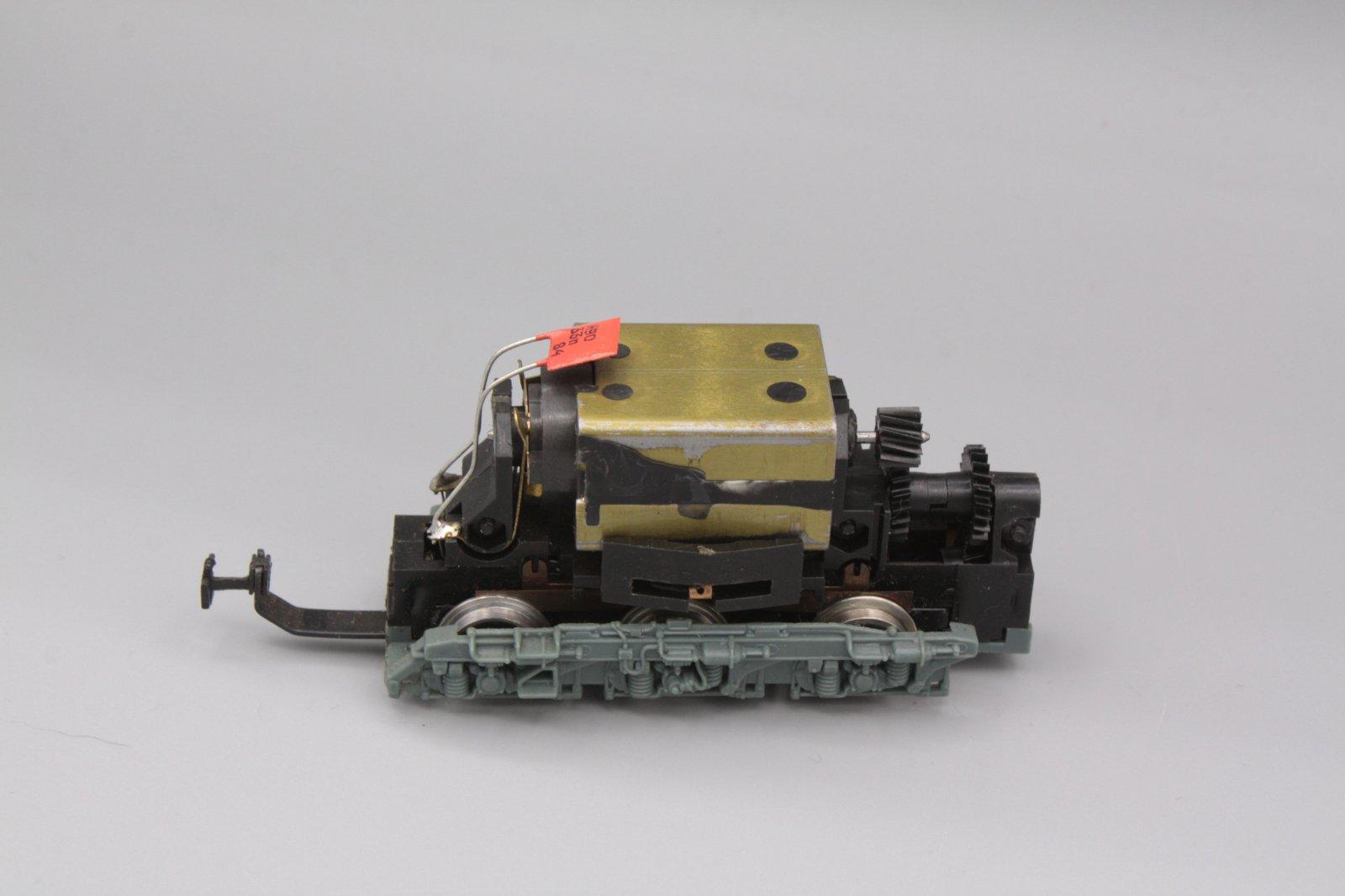 Ersatzteil Piko 130 Drehgestell mit Motor - geprüft- Antriebsdrehgestell -grau