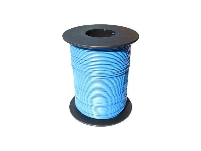 100 m LIY Kabel Litze blau 0,14 mm² flexibel Kupferlitze Schaltlitze