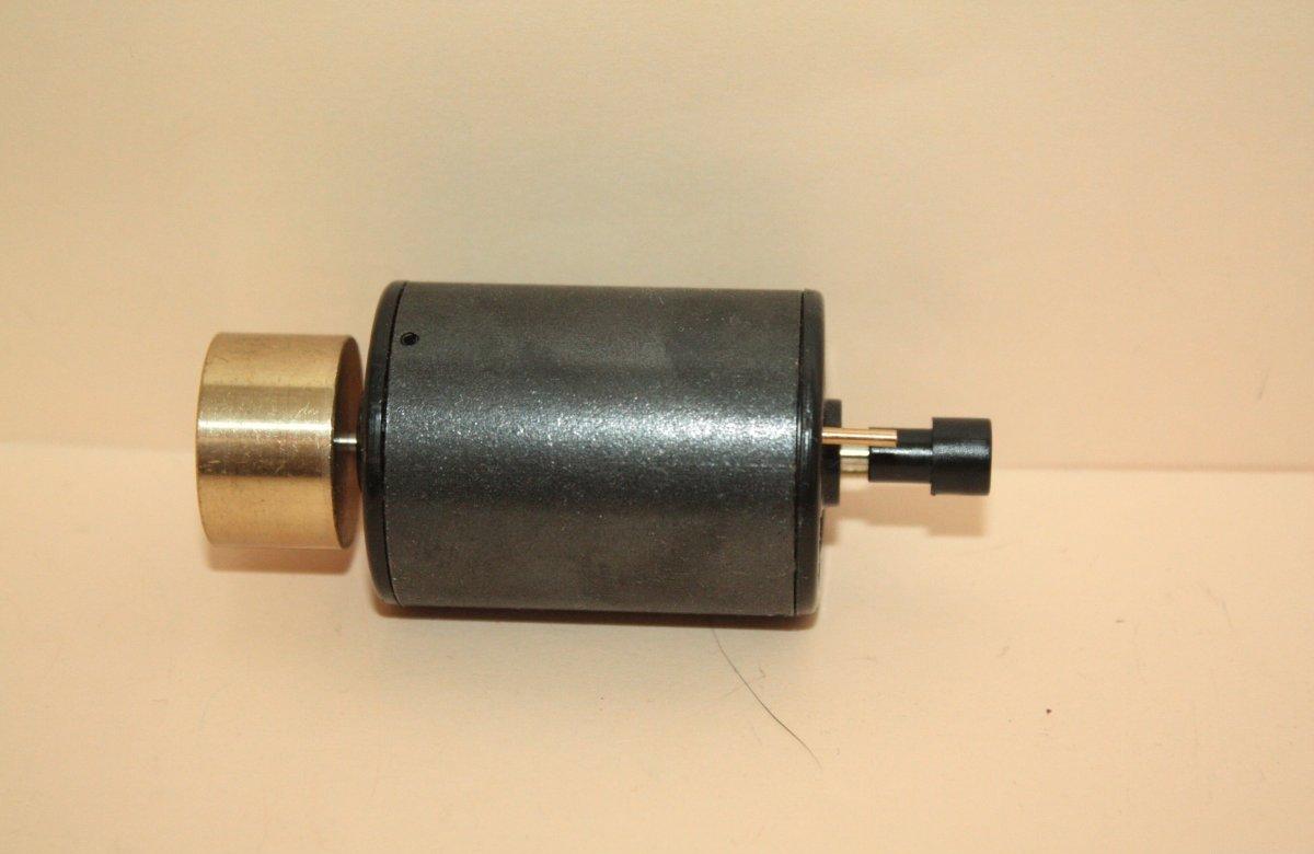 Ersatzteil Roco Rundmotor - diverse Baureihen - mit Schwungmasse  (silber)