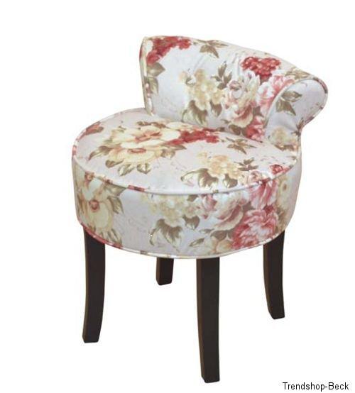 hocker mit r ckenlehne sitzhocker polsterhocker polsterstuhl r schen dessin ebay. Black Bedroom Furniture Sets. Home Design Ideas