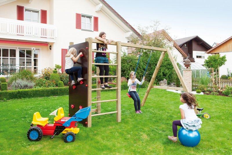 Klettergerüst Reckstange : Klettergerüst mit spielturm kletterturm kletterwand kletternetz