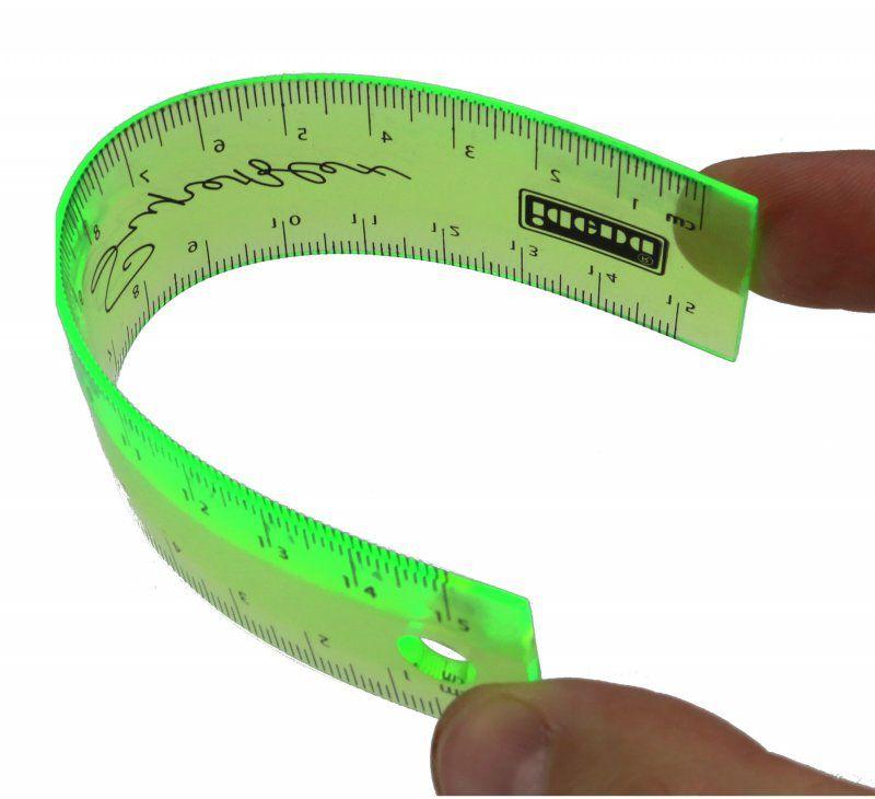 10x Stylex Lineal 30cm biegsam flexibel