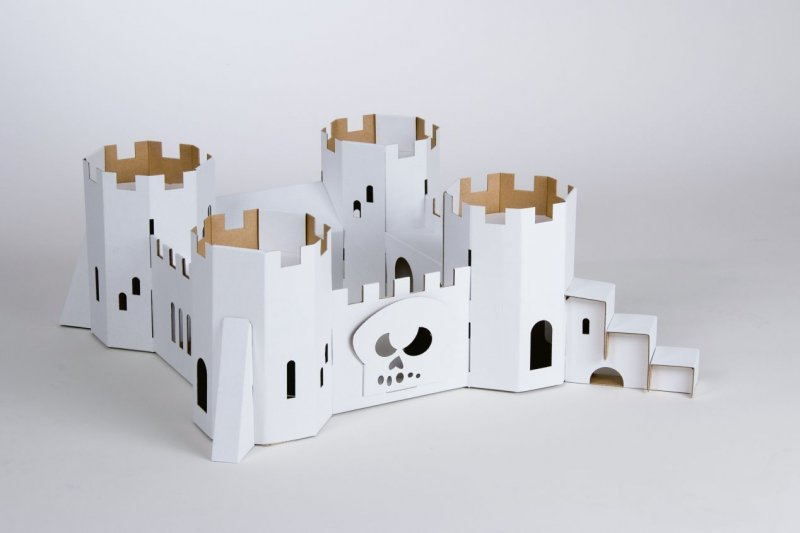 Calafant großes Kartonmodell Bausatz Modell Karton Pappe /& Papier Piratenfestung