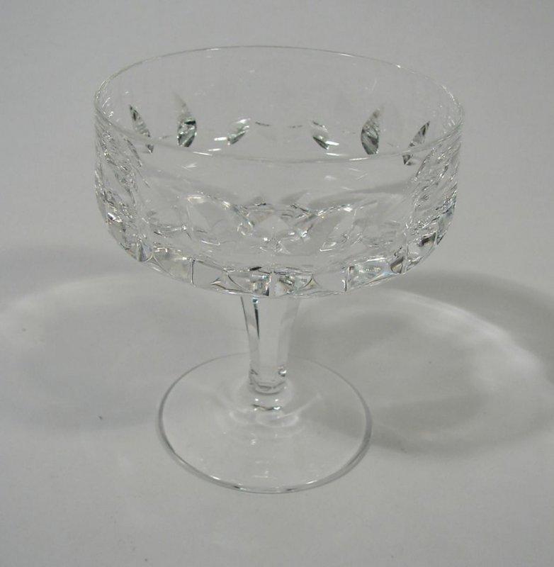 Peill Glas Mercator Likörschale Gläser  Kristallglas geschliffen 80 er Jahre