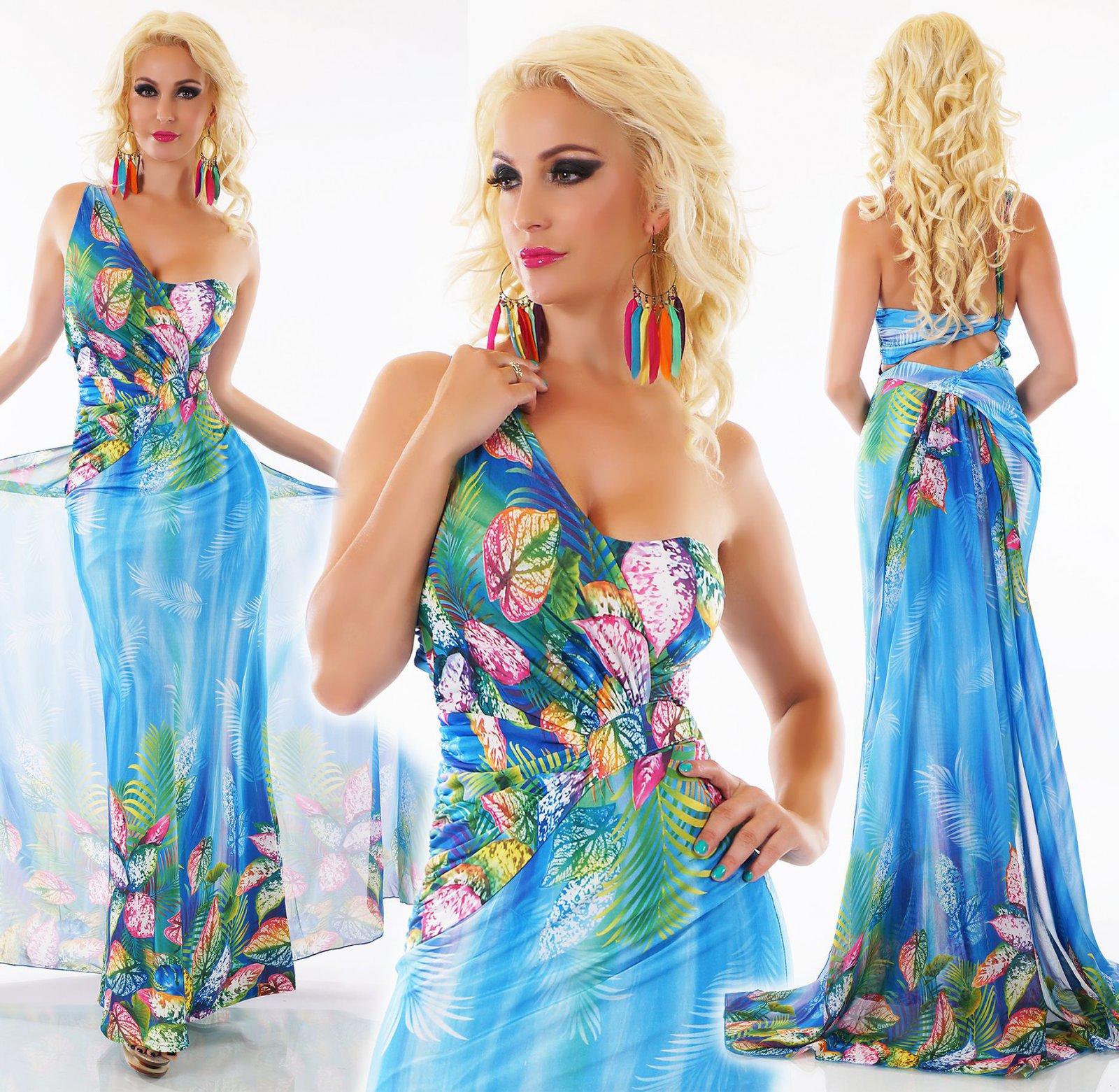 detalles de señora maxi vestido largo flores print con larga andar llevando  verano fiesta s/m m/l- ver título original
