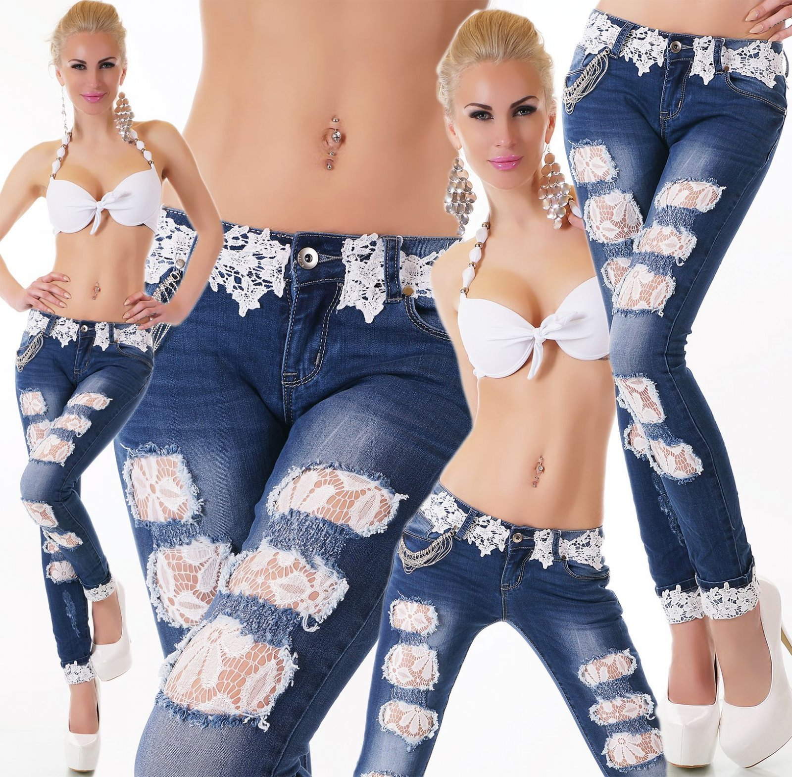 Sexy crazy age jeans