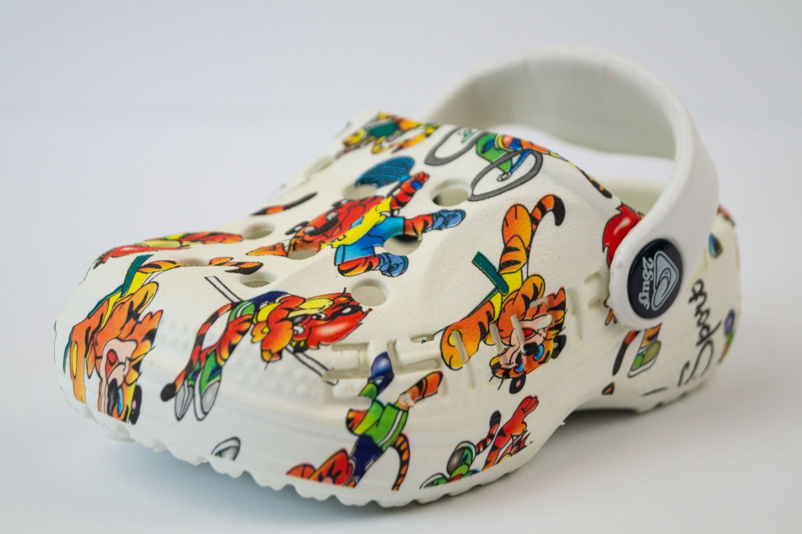 Crocs Ralen Feat Sea Blue Clogs Kinder Hausschuhe Sandalen Schlappen Latschen
