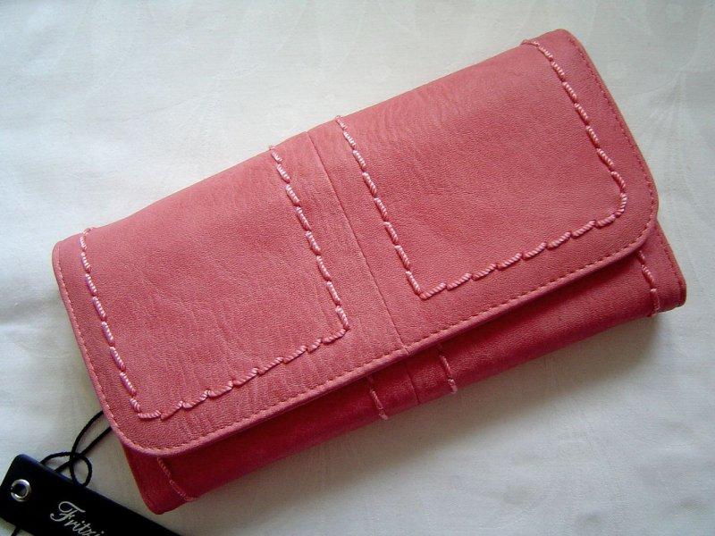Fritzi aus Preußen Damen Brieftasche Geldbörse Wallet Kristy Farbe Berry