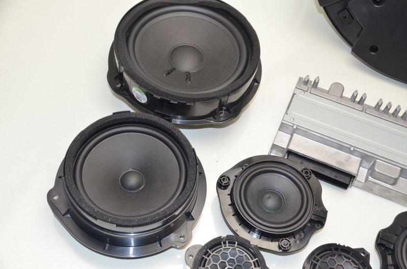 audi q2 ga b o soundsystem lautsprecher bang olufsen. Black Bedroom Furniture Sets. Home Design Ideas