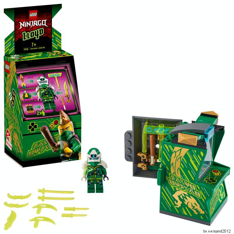 LEGO Ninjago 71716 Avatar Lloyd Arcade Kapsel Automaten N2//20