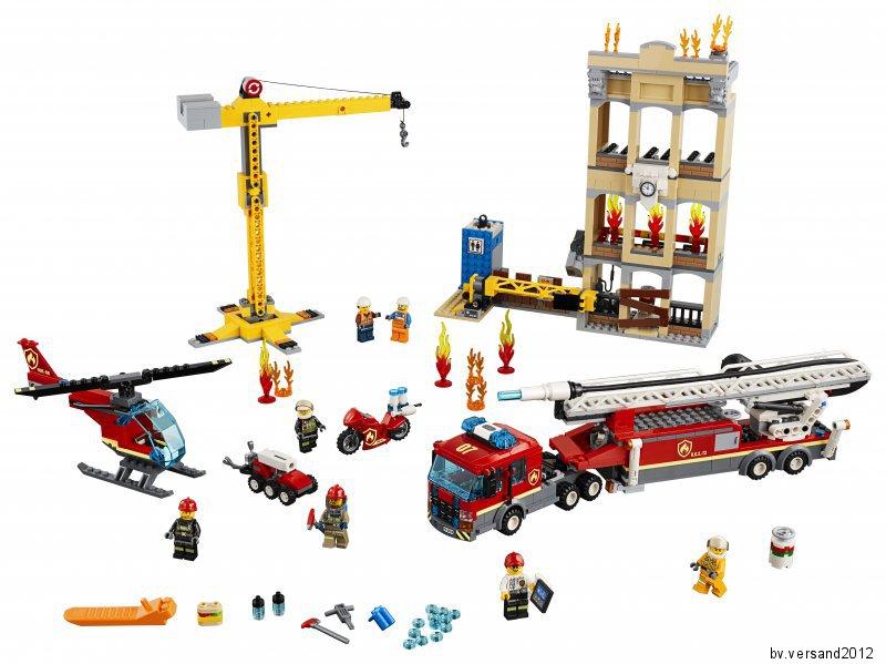 LEGO City 60216 Feuerwehr in der Stadt NEU und OVP