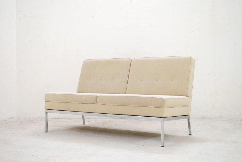 Vintage florence knoll sofa 60er design ebay for Sofa 60er gebraucht