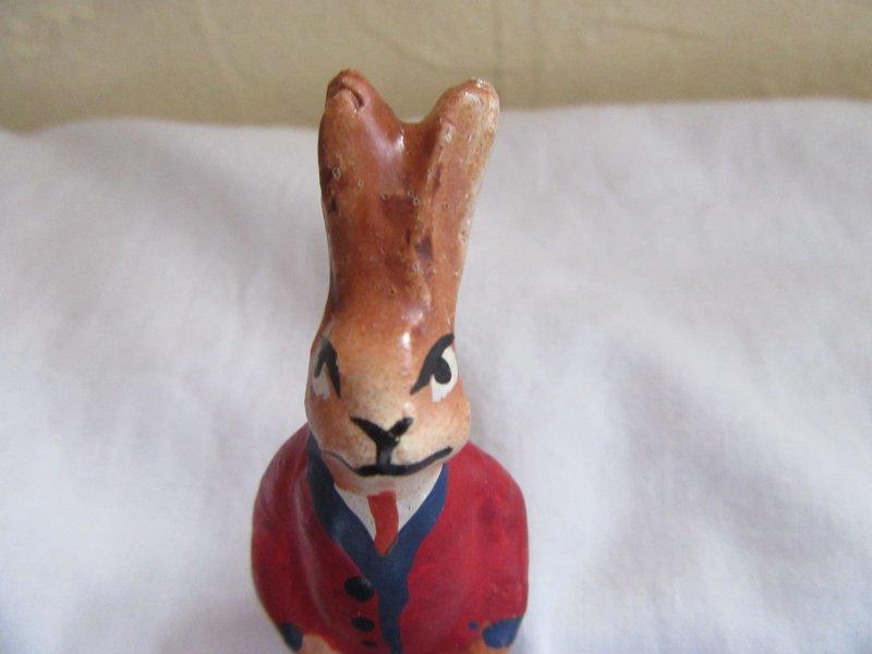 Osterhase-Hase aus Masse-DDR-unbespielt