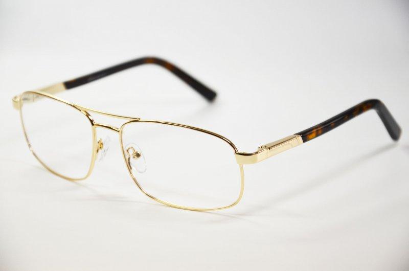 Sonnenbrille für Herren Brille aus Metall gold +1,0 bis +5,0 Braun 85% Neu