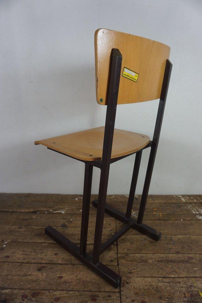 10 alter Kinderstuhl Stuhl Schule Kindergarten DDR 60er 70er Retro Vintage 1 v