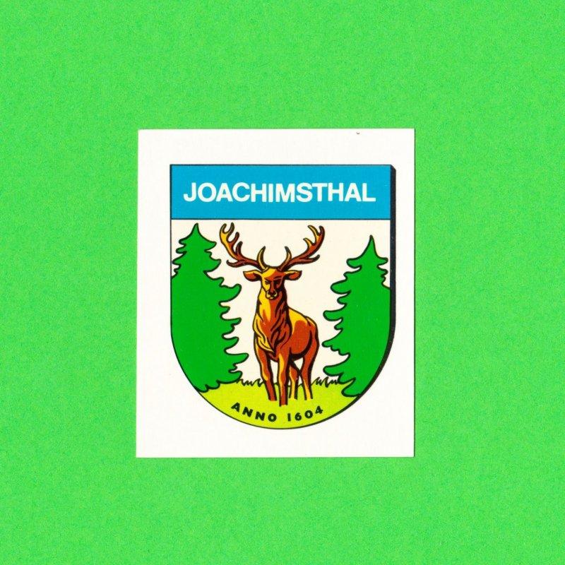 DDR Abziehbild Schiebebild Königswusterhausen ´87