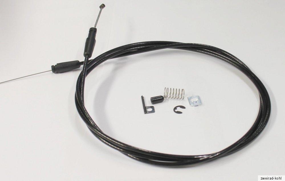 Schaltzug für Shimano Positron PPS 1700 mm schwarz