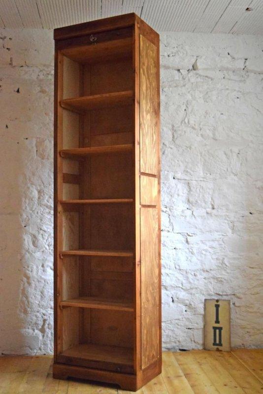 1 von 4 rolladenschrank antik holz alt b roschrank loft aktenschrank art deco ebay. Black Bedroom Furniture Sets. Home Design Ideas