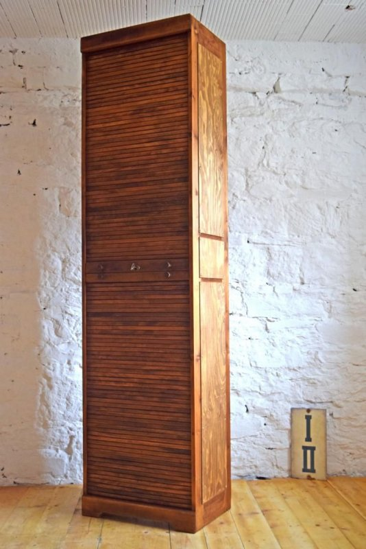Aktenschrank antik  1 von 4: Rolladenschrank Antik Holz Alt Büroschrank Loft ...