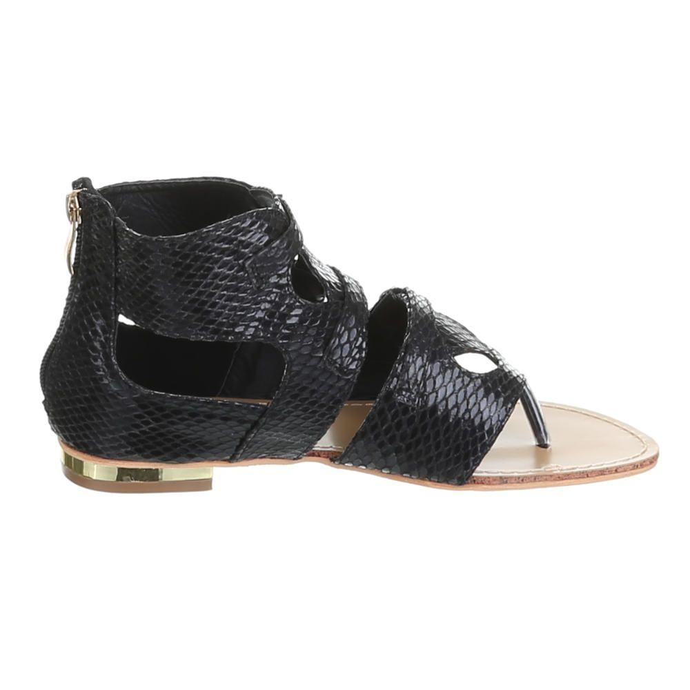 Sandalen sandaletten gladiator romer zehentrenner flach for Garderobe duden