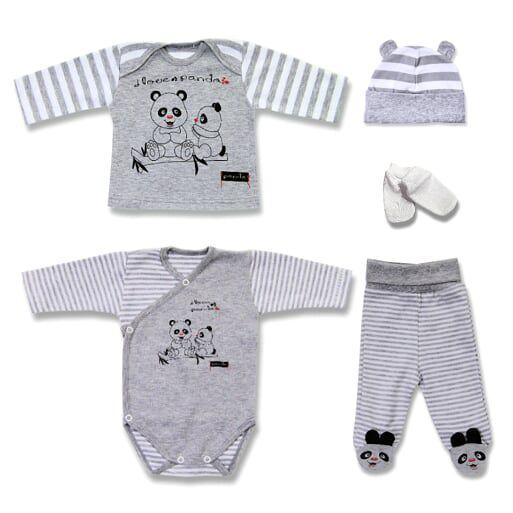 Baby Erstausstattung Unisex Babyset-Geschenkset-5tlg-Erstlingsset Starterset