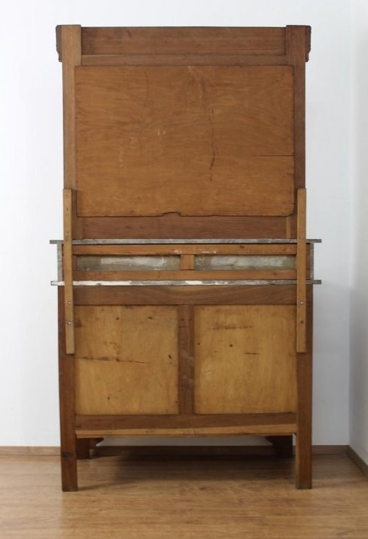 kom097 antike spiegelkommode schminkkommode waschtisch art. Black Bedroom Furniture Sets. Home Design Ideas