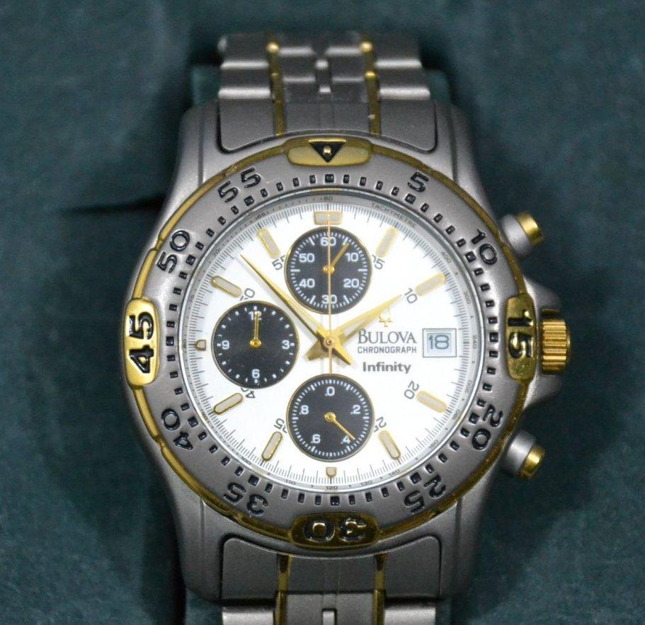 Armbanduhr, Herren, Bulova Invinity, Chronograph | eBay