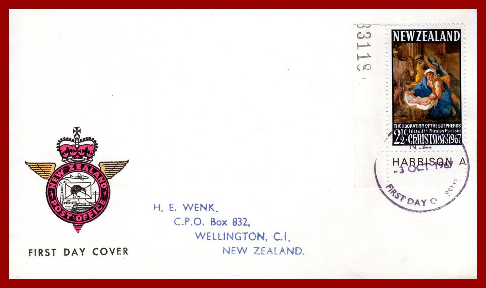 New Zealand 1967, 1968, 1971 Christmas, illustrated first day covers, FDC | eBay