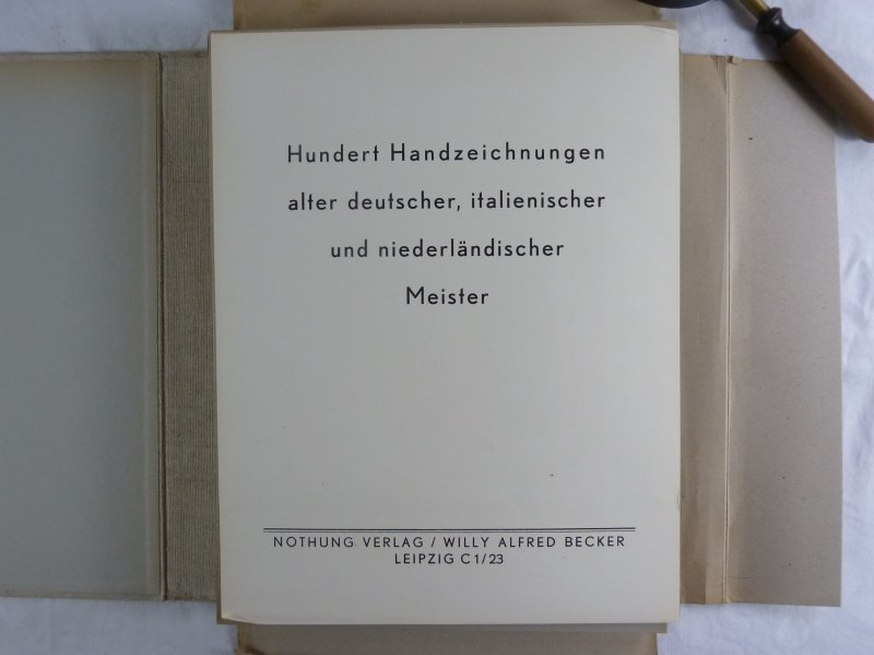 100 Handzeichnungen Alter Deutscher Italienischer Und