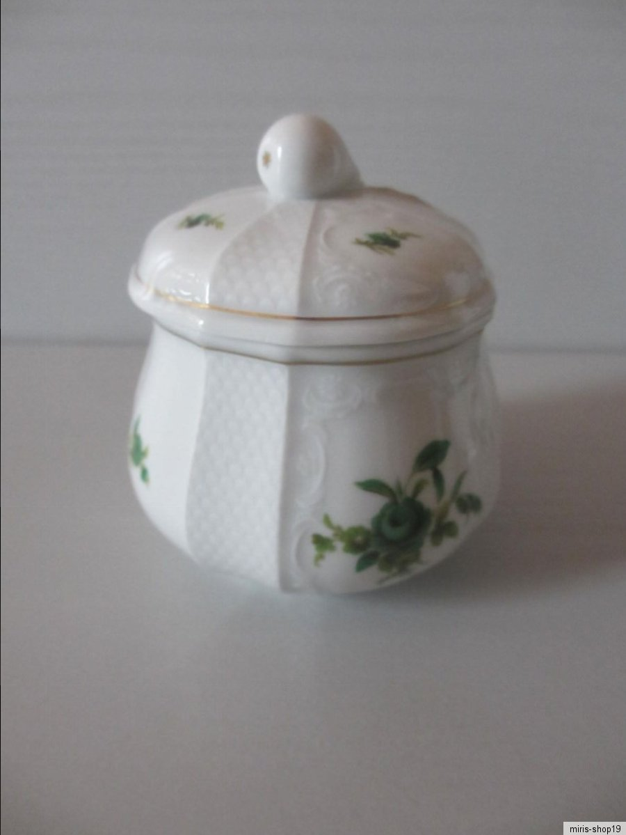 Brotteller D 15,7 cm Fürstenberg Solitude Grüne Blume 02927