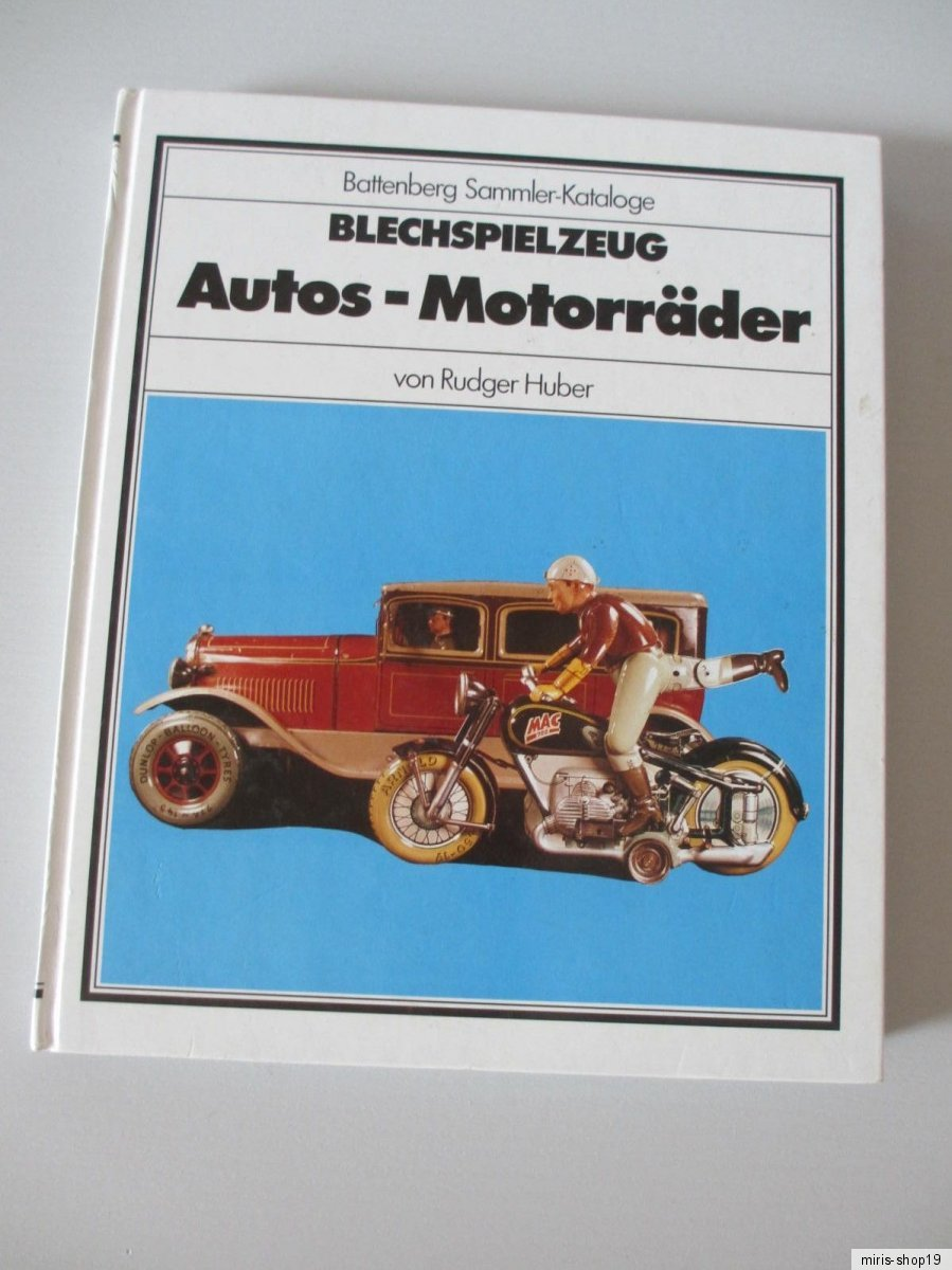 Dampfspielzeug Blechspielzeug Sammler-Katalog Biebel Battenberg Händler Buch