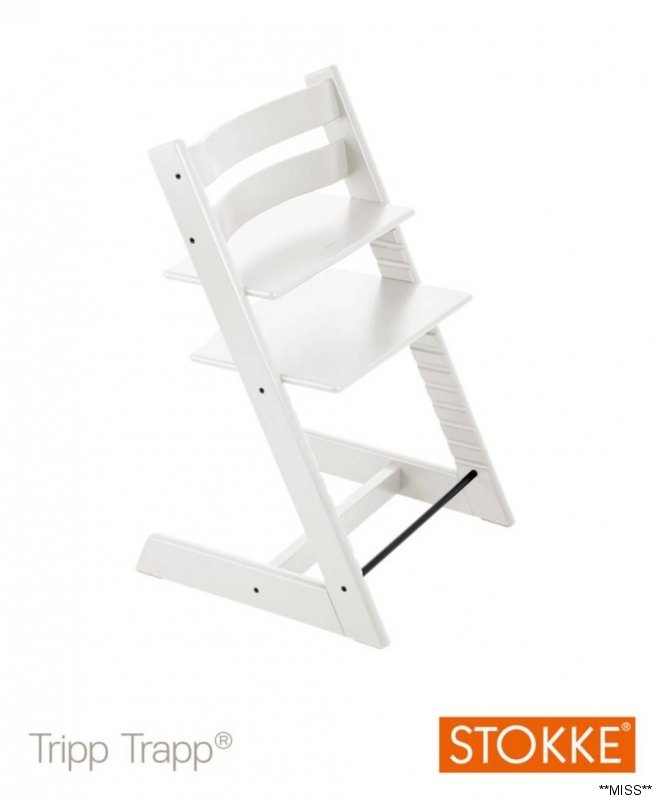 stokke tripp trapp glider stuhl hochstuhl treppenstuhl wei originalkarton ebay. Black Bedroom Furniture Sets. Home Design Ideas