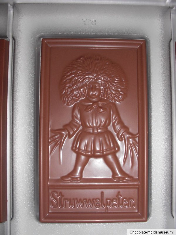 NEUE SCHOKOLADENFORM aus Polycarbonat NEW chocolate mold ANTON REICHE # 517