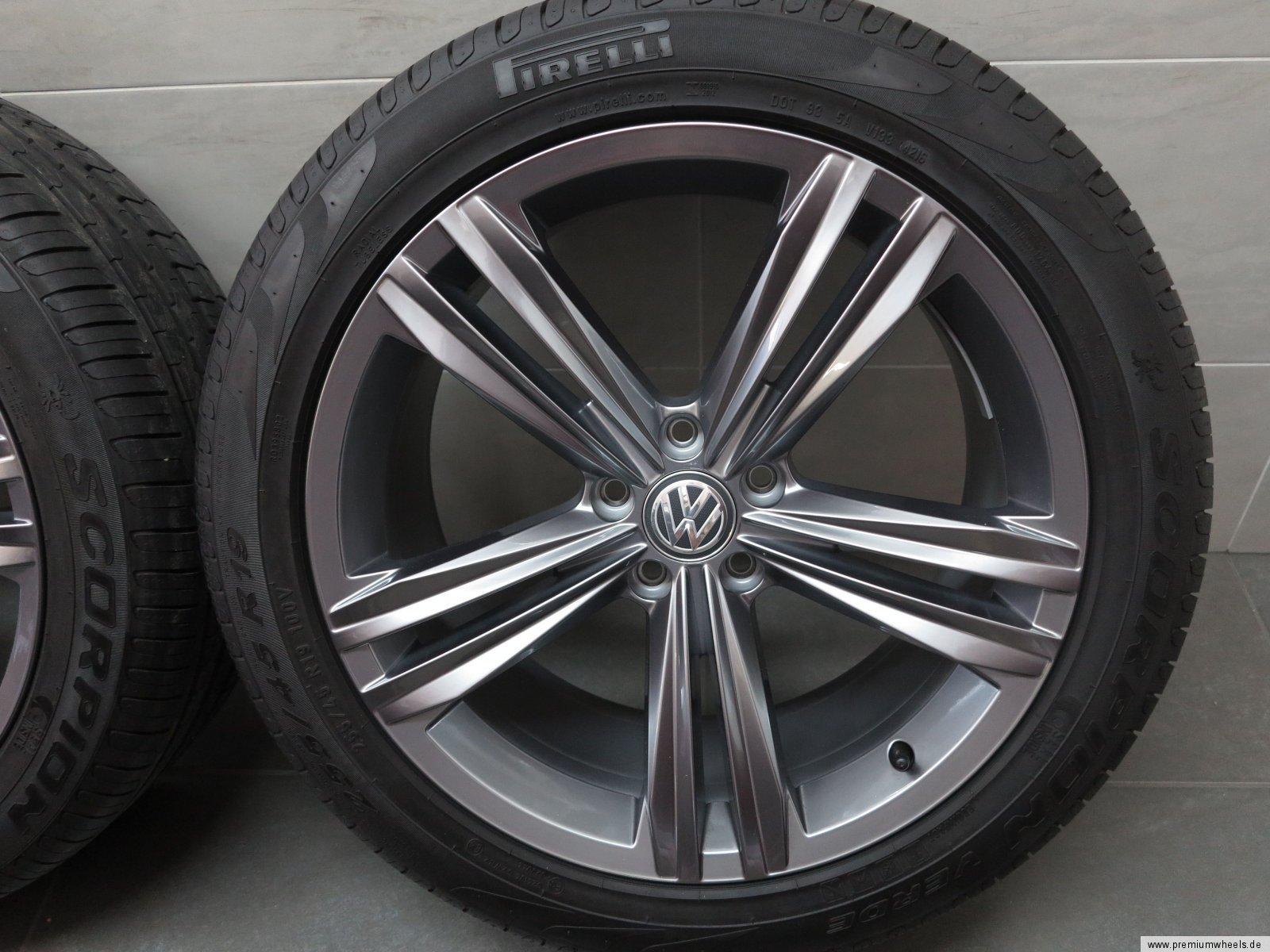 19 inch summer wheels original vw tiguan ii ad1 5n rims. Black Bedroom Furniture Sets. Home Design Ideas