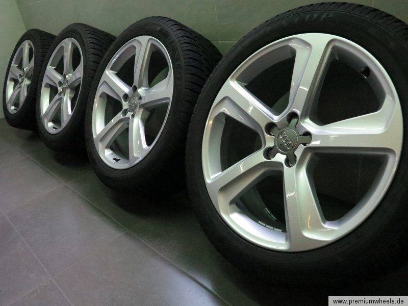 original wheels mm audi tires inch s x line itm tyres winter rotor